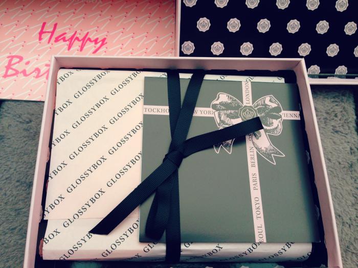 glossybox anniversaire 1
