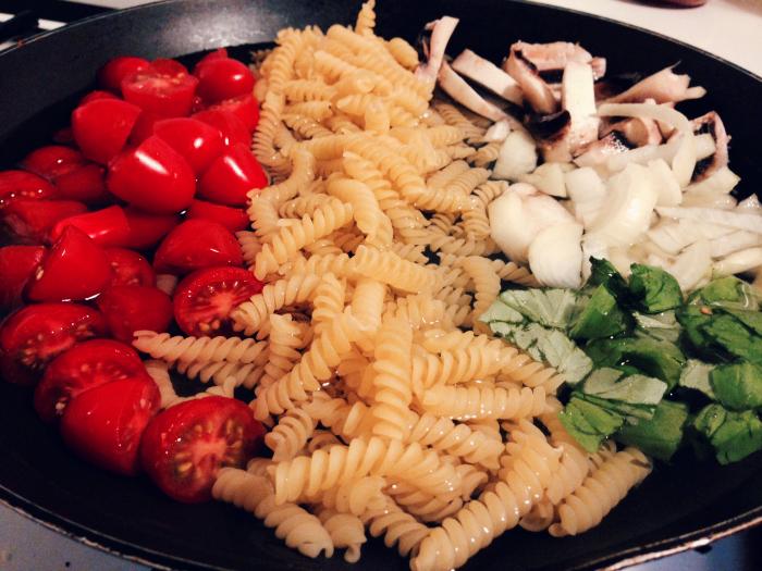one pan pasta 1