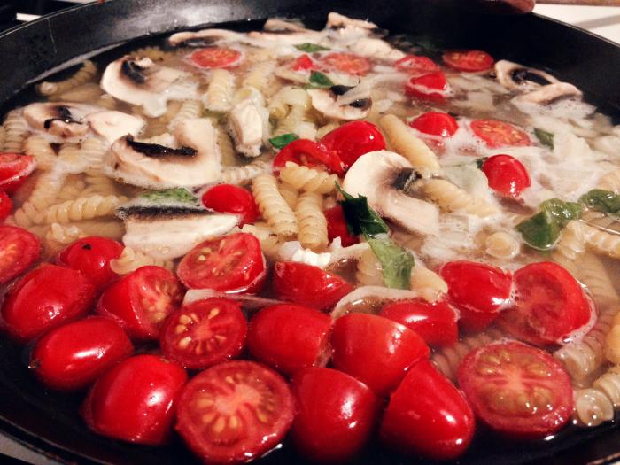 one pan pasta 2