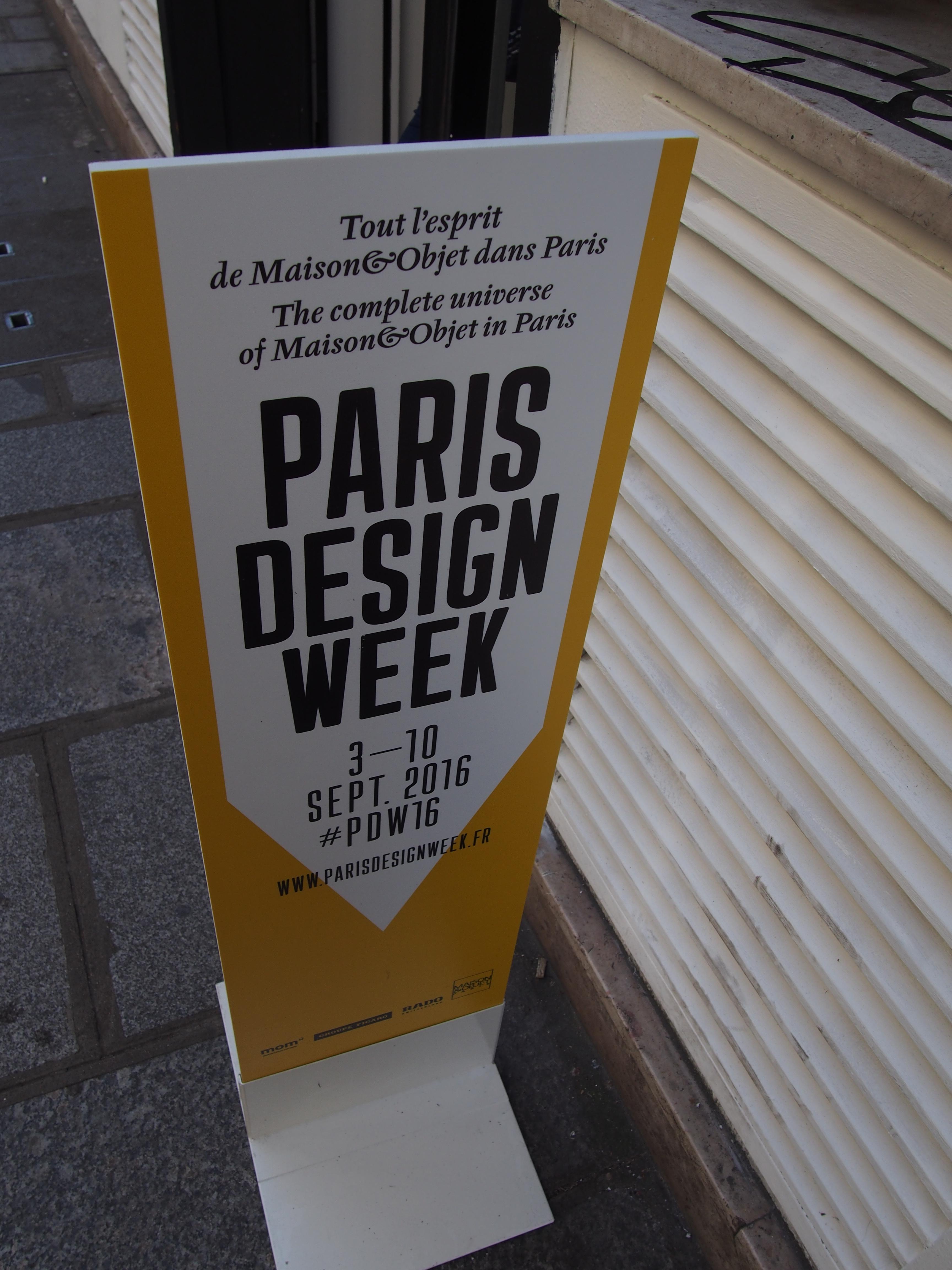 Design week Paris déco