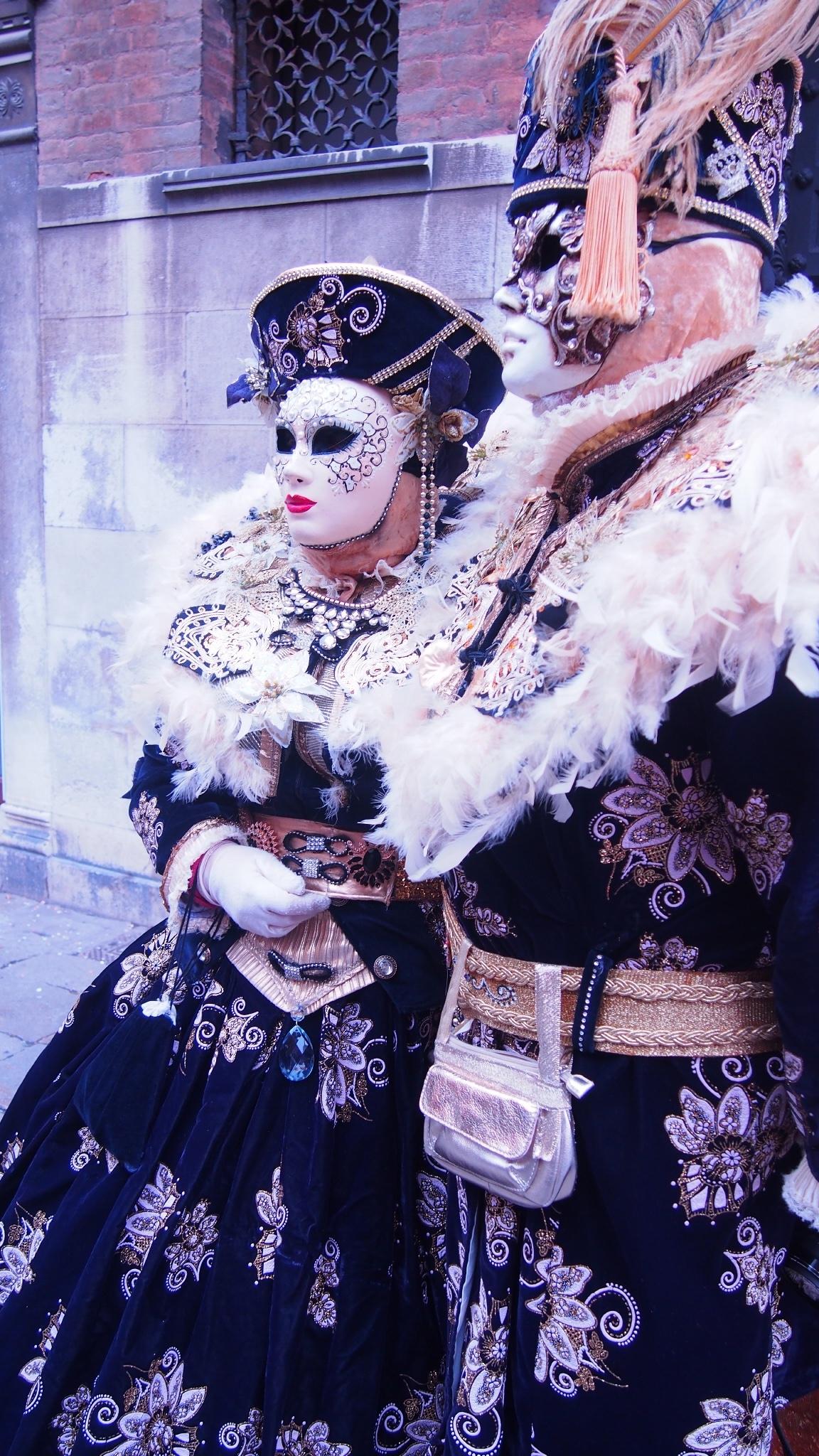 Les jumelles en voyage à Venise